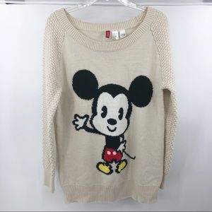 Disney baby Mickey mouse sweater size 10